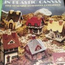 Cozy Cottages Plastic Canvas Potpourri Containers Leisure Arts 1190