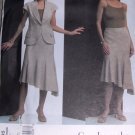 Sewing Pattern Vogue 2805 Misses Size 18-20-22 Guy Laroche Summer Suit Jacket Skirt