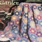 Afghan Crochet Pattern Old-Fashioned Garden Floral Afghans Leisure Arts 2718