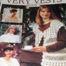 Crochet Vests Pattern Leisure Arts 2499 Very Vests Book 1 Lacy Style