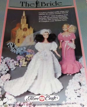 FIBRE CRAFT Doll Patterns, DCDT HANDMADE BARBIE CLOTHES-7 items in