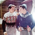 Vintage Bernat Handicrafter for Men Sweaters Knitting Patterns