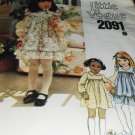 Little Vogue Sewing Pattern Sundress Dress or Jumper number 2091 Size 4