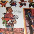 Simplicity 7929 Sewing Pattern Accessories Clothing Backpack  for 9 inch Bean Bag Animals