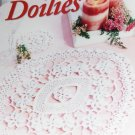Crochet Pattern Lovely Doilies Heirloom Designs From American School of Needlework