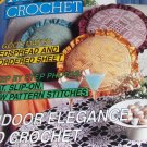 Magic Crochet Pattern Magazine Number 75 December 1991 Bedspreads Pillows