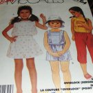 McCall's Sewing Pattern 3164 Summer Top Pants and shorts childrens wear Size 4 UNCUT