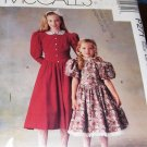 McCall's Sewing Pattern P271 Girl's Princess Dress long or short sleeves size 3, 4, 5