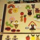 Crochet Pattern More Fridgies Refridgerater Magnets Leisure Arts 385 Gingerbread Man