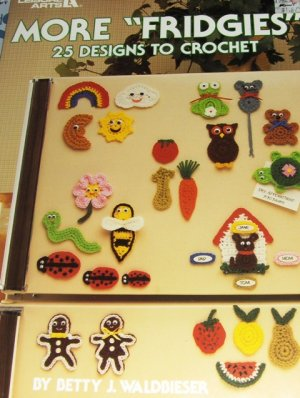 Free Crochet Patterns - Fridgies - 117 Crochet Patterns and Knit