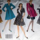 Vogue 2813 Sewing Pattern Womens Misses Tunic Dress or Suit Jacket and Skirt  size 6 8 10