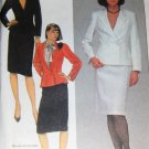 McCall's 8494 Sewing Pattern Classic Misses Suit Office Wear Jacket and Skirt  size 10