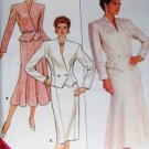 Butterick 4189 Suit Sewing Pattern  Misses Suit Jacket and Flared or Slim Skirt  size 8 10 12