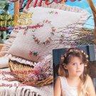 Crochet Thread Magazine Issue 6 lace bodice, doilies, basket, edgings, pillow, sachet