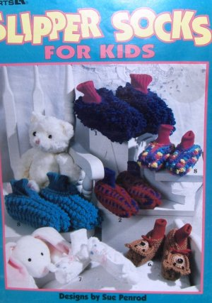 Crocheted Slippers Pattern - Sue's Crochet and Knitting - Supplies