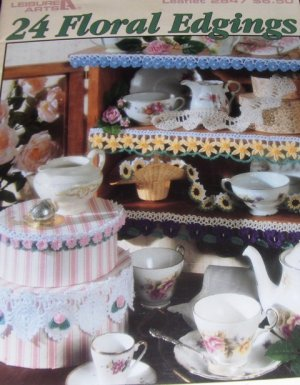 Flower Edgings Terry Kimbrough Pattern Leisure Arts 2847 Crochet