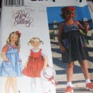 Child's Jumper and Top Simplicity Pattern 9577 Size 5,6,6X Uncut