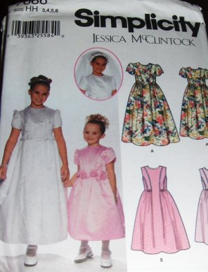 Where can I find a free pattern for a bridesmaid and flower girl