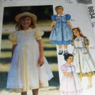 Children's Dress and Pinafore Sewing Pattern McCall's 8634 Size 4, 5, 6