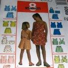 Girl's Summer wardrobe shorts tops skorts 8 great looks McCall's 9369 Size 10 12 14