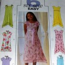 Butterick Sewing Pattern B4435 Girl's Dress with hem variations sizes  12 14 16
