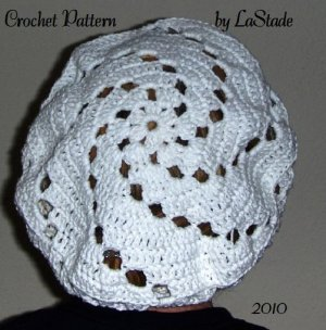 "Perky Snood - From the 1940""s. This one is like the one wore by"