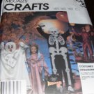 McCall's 2743 Child Halloween Costume Skeleton, Ghost, Princess, Devil, Witch Size 6,8