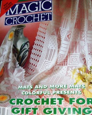 Free Crochet Pattern - Large Oval Tablecloth from the
