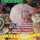 Magic Crochet Magazine Number 89 April '94 Flower Doily Pillows Filet Crochet Granny Square Sweater