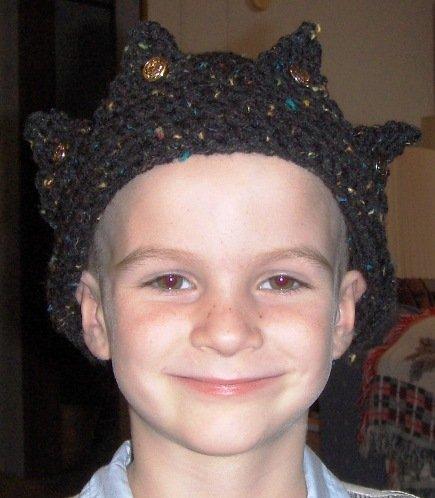 Jughead Beanie Crown Hat PDF Crochet  Pattern Instructions Teen Adult Size LaStade Designs