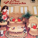 Annie's Attic Fashion Doll Home Decor Crochet Pattern The VERANDA Wicker Garden Furniture