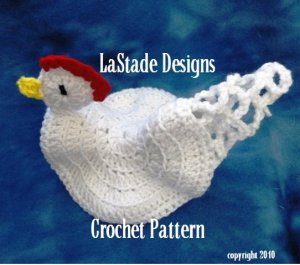 Rose Potholder | Free Vintage Crochet Patterns