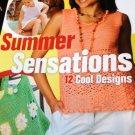 Crochet Pattern Summer Designs Tank Top Grocery bag Toddler Swim Suit