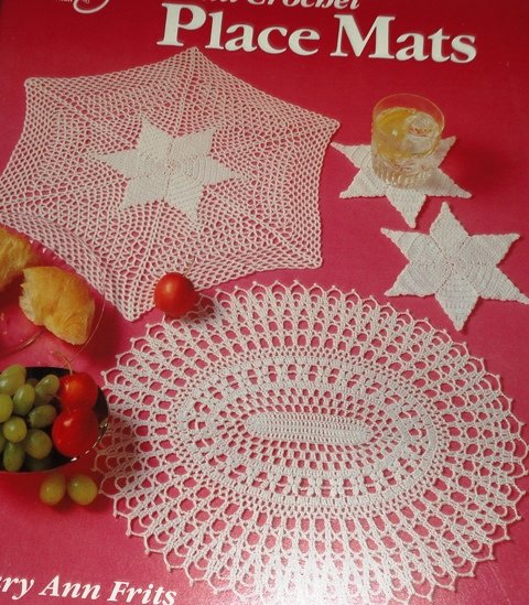 Place Mats Patterns Leisure Arts Doily Doilies Place Mats Thread Crochet