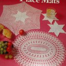Place Mats Patterns Leisure Arts Doily Doilies Place Mats Thread Crochet