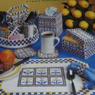 Kitchen Breakfast Nook Plastic Canvas patterns American School of Needlework