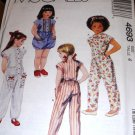 Jumpsuit and Romper Sewing Pattern McCall's 4693 Child Size 4
