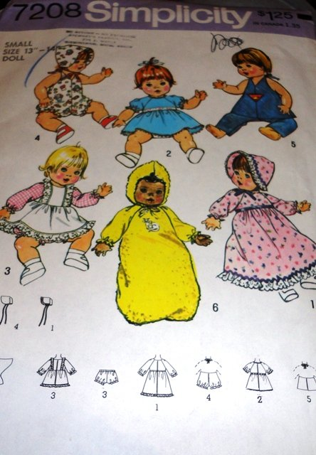 ... Doll Clothing Sewing Pattern Sizes Small Doll 13 - 14 Inch (wiki