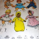 Simplicity 7208 Vintage Doll Clothing Sewing Pattern Sizes Small Doll 13 - 14 Inch (wiki)
