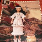 Fibre Craft Crochet Pattern Indian Princess III doll clothes