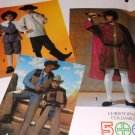 Simplicity 7482 Historical Christopher Columbus, Cowboy Halloween Costume Child size 7-12