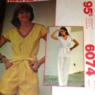 McCall's 6074 Misses Jumpsuit in two lengths Size 16 Bust 38 (wiki)