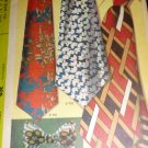 McCall's 2568 Retro 70's Wide Ties and Bow Tie Sewing pattern.(wiki)