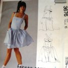 McCall's 3676 Sewing Pattern Misses Dress Size 16 bust 38