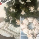 Simplicity 5176 Quilted Christmas Tree skirt, Wreath, Angel and Ornaments Sewing Pattern