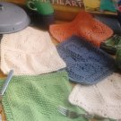 Dishcloths from the Heart Knitting Pattern Leisure Arts