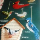 Annie's Attic 87P27 Birds Feathered Friends  Plastic Canvas pattern