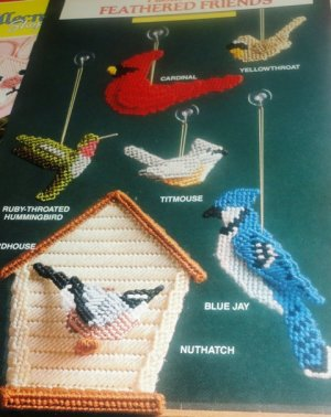 Birds Feathered Friends  Plastic Canvas patterns Annies Attic