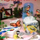 Birds Butterflies Flights of Fancy Plastic Canvas patterns Needlecraft Shop