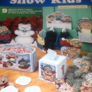 Snow Kids Plastic Canvas Patterns The Needlecraft Shop